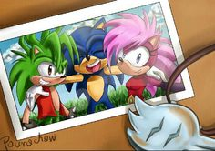 I wanted draw somethin from Sonic Underground ( I have never watched this XD) Hope like it Sonic with sister and brother Sonic And Amy, Sonic Fan Art, The Sonic, Sonic The Hedgehog, Neymar Jr, Sonic Underground, Underground Arts, Shadow Sonic, Sonic Heroes
