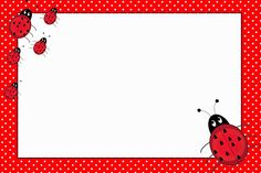 Let's Party - Ladybug - Onofer-Köteles Zsuzsánna - Picasa-Webalben Free Printable Invitations, Party Printables, Free Printables, Baby Ladybug, Ladybug Party, Flashcards For Kids, Oh My Fiesta, Ladybug Crafts, Baby Girl First Birthday