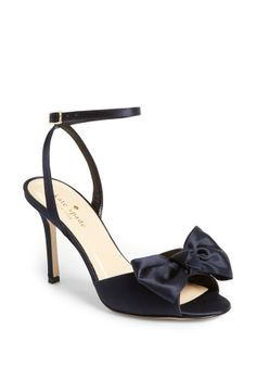 Teaming this satin bow sandal with jeans and cute dresses next season!