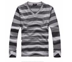 High Quality Casual Sweater Men Pullovers Brand winter Knitting long sleeve v-Neck slim Knitwear Sweaters size L-XXL Casual Sweaters, Sleeve Styles, Latest Trends, Men Sweater, Men Casual, V Neck, Slim, Pullover, Long Sleeve