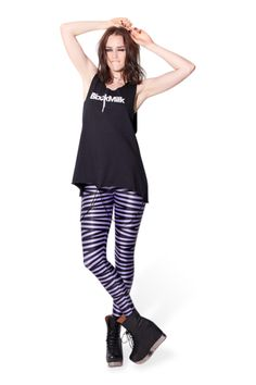 Tape Lavender Leggings › Black Milk Clothing