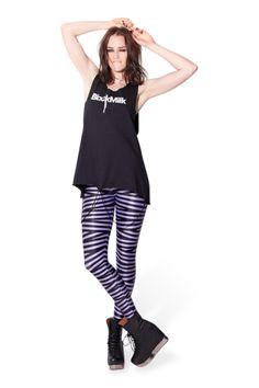 Tape Lavender Leggings › Black Milk Clothing