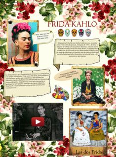 Kahlo's life began and ended in Mexico City, in her home known as the Blue House. She gave her birth date as July 7, 1910, but her birth certificate shows July 6, 1907; Kahlo had allegedly wanted the year of her birth to coincide with the year of the beginning of the Mexican Revolution so her life would begin with the birth of modern Mexico.  #Glogster #FridaKahlo