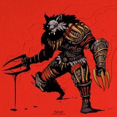 Fantasy Character Design, Character Design Inspiration, Character Concept, Character Art, Concept Art, Medieval Fantasy, Dark Fantasy, Fantasy Art, Fantasy Monster