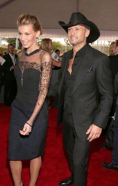 Faith Hill and Tim McGraw Grammy awards