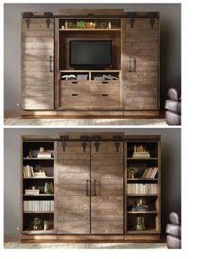 TV cabinet/bookcase. What a great piece of furniture from Arhaus.