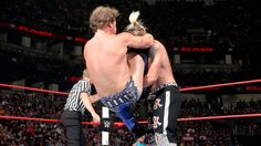 Jericho catches Enzo with a Codebreaker!