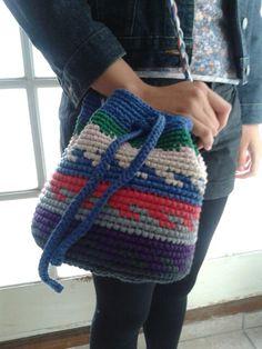 Nadia Rezende - Bolsa crochê de algodão 2014