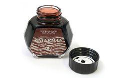 Waterman Nostalgia Fountain Pen Ink - Havana Brown