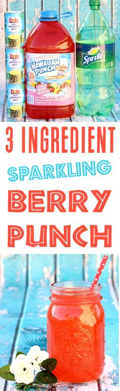 Punch Recipes for Birthday Party or Baby Shower