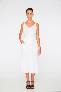 Image of KALEIDOSCOPE Collection | EMMELINE Dress | natural white