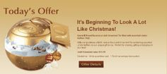 Lindt Magical Gifts offer: Every day a Free gift offer until Christmas