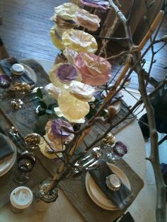 tablescape by the indie*pendent in Atlanta, GA