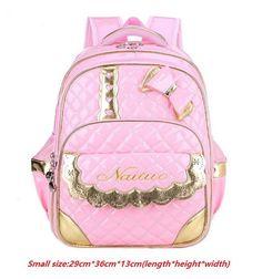 114ed05b7cbe Cute Bow Princess Girls Backpack Kids School Bags Children Backpacks  Primary School Backpack PU Waterproof Bag
