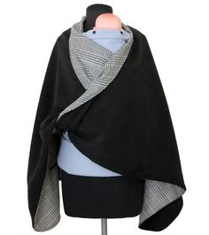 Babywearing Coat & Maternity Wrapping Poncho by AnandaBabyCarriers, $64.99