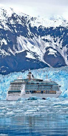 Cruises to Hubbard Glacier, Alaska Cruise Travel, Cruise Vacation, Golf Von Alaska, Cruise Ship Pictures, Hubbard Glacier, Family Cruise, Royal Caribbean Cruise, Best Cruise, Alaska Travel