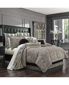 J Queen New York Chancellor California King Comforter Set Bedding Cheap Bedding Sets, Bedding Sets Online, Luxury Bedding Sets, Console, Luxury Bedding Collections, Queen Comforter Sets, Cool Beds, Bed Design, Comforters