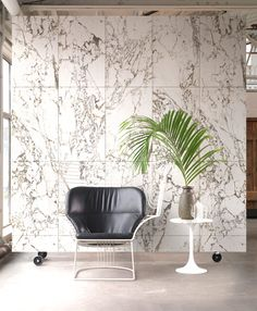 'Best of' Compilation of Wallpaper Ideas by NLXL - White Marble