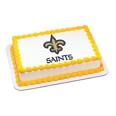 New Orleans Saints Cake Topper | My Party Helpers | $9.49 Free Shipping