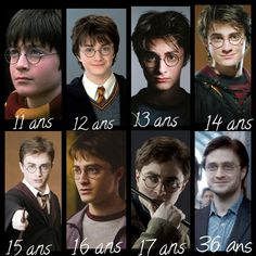 L'évolution d'Harry Potter