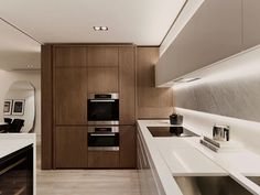 Kitchen. Unified Lighting.