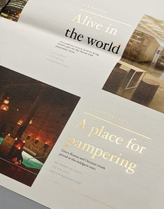 30 Park Place Branding by Mother New York | typography detail