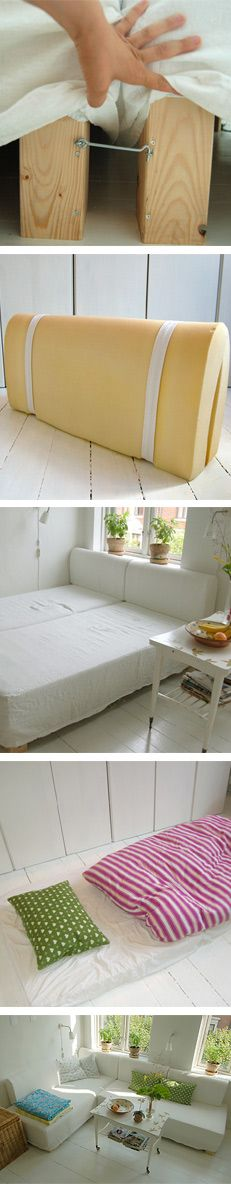 ...making things - Couch And Guest Bed in One