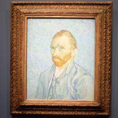 Portrait de l'Artiste . #paris #vacation #art #greatmasters #museedorsay #europe #vangogh #fineart #museumday #travel #instatravel #madness