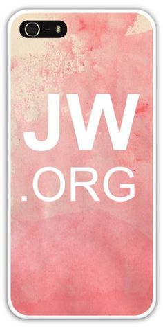 Custom JW.org iPhone 5/5s 4/4s Samsung Galaxy S4 S5 by JWSupply, $19.99