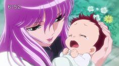 Saint Seiya Omega - Saori & Baby Kôga