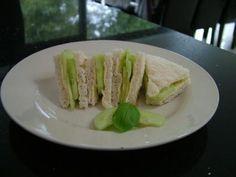 Cucumber sandwiches =].