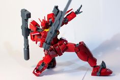 Hao (USA) Here is my Amazing Red warrior. My Gunpla pose represent his final blow against his enemy. The Amazing Red warrior should always have an amazing ending.