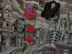 Musica De Los Muertos by tat2pooch.deviantart.com on @deviantART