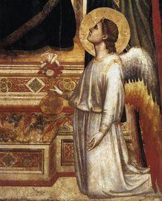 Giotto di Bondone - Ognissanti Madonna - detail (c. 1310)