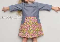 The Louisa Dress Pattern Tour (and giveaway!)