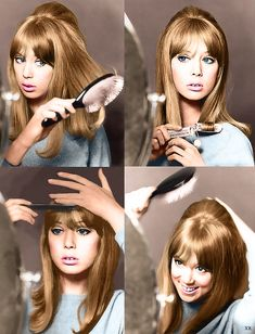 I decided to colorize this photo of Pattie Boyd. Enjoy!