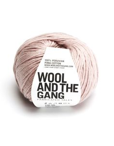 I love Wool and the Gangs Shiny Happy Cotton