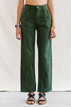 Urban Renewal Vintage Swedish Military Pant - Urban Outfitters