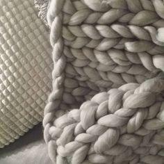 Chunkyknit Chunky blanket von nice to live http://nicetoliv.blogspot.de/