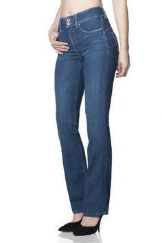 Salsa - Jeans Push In Secret avec jambe boot cut en denim foncé - Femme Pour en savoir + suivez ce lien : https://www.pifmarket.com/boutique/mode-et-beaute/salsa-jeans-push-in-secret-avec-jambe-boot-cut-en-denim-fonce-femme/