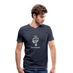 Fridays for future Männer Bio T-Shirt mit V-Ausschnitt Sweat Shirt, T Shirt Sport, V Neck T Shirt, T Shirt Designs, Comic Sans, T Shirts, Cool Shirts, Retro Vintage, Pullover Hoodie