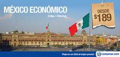 #CostamarTravel ¡#México lindo señores! No válidos para fechas festivas. Nuestra #oferta es válida hasta el 30 de Noviembre y viaje hasta 15 Diciembre