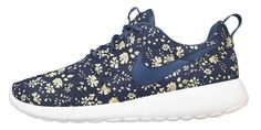 NIKEiD x Liberty Roshe Run. Kick game is very important, its possible to be cute and fashionable when it comes to shoes.