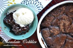 Chocolate Cobbler -  Small_Town_Woman