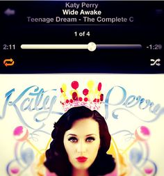 #katyperry #playlist #teenagedream #girl #awesome #beautiful #shorthair #iphone