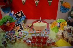 Angry bird theme party
