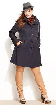 Plus Size Designer Winter Coats