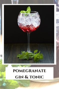 Make this lovely layered Pomegranate Gin and Tonic with easy ingredients. You can also mix it up and deliver your flavor with pomegrante ice! Cocktail Syrups, Gin Cocktail Recipes, Alcohol Drink Recipes, Easy Cocktails, Pomegranate Gin, Pomegranate Molasses, Pom Juice, Alcoholic Punch, Recipe For Teens