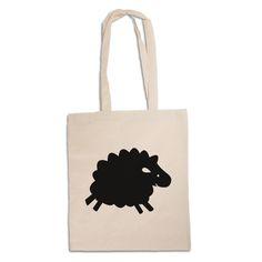 Tragetasche Schaf aus Kunstfaser  Natur - Das Original von Mr. & Mrs. Panda.  Diese wunderschöne Tragetasche von Mr. & Mrs. Panda im  Jutebeutel Style ist wirklich etwas ganz Besonderes. Mit unseren Motiven und Sprüchen kannst du auf eine ganz besondere Art und Weise dein Lebensgefühl ausdrücken.    Über unser Motiv Schaf  Schafe gehören zu den ältesten Haustieren der Welt und sind für ihre flauschige Wolle bekannt. Schafe und ihre Lämmer sehen durch ihre Wolllöckchen unglaublich niedlich…