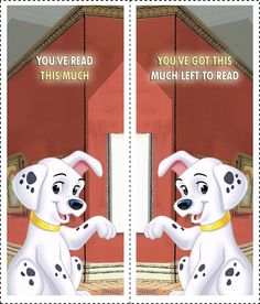 Cool Bookmarks, Bookmarks For Books, Walt Disney, Disney Dogs, Cruella Deville, 101 Dalmations, Dalmatian Dogs, Disney Birthday, School Themes